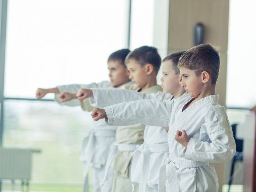 Karate a skupinové cvičenie Military