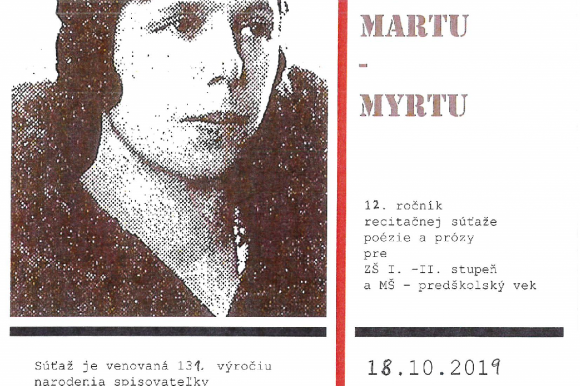 Spomienky na Martu – Myrtu
