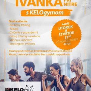 Fitness tréningy v Ivanke pri Nitre