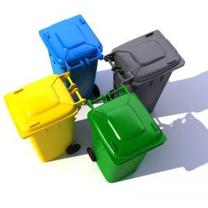Poďakovanie za vzorné separovanie odpadu