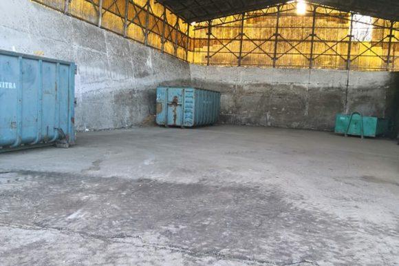 Zberový dvor 16.1.2021 zatvorený