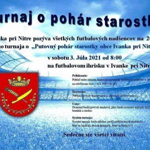 Futbalový turnaj o pohár starostky obce